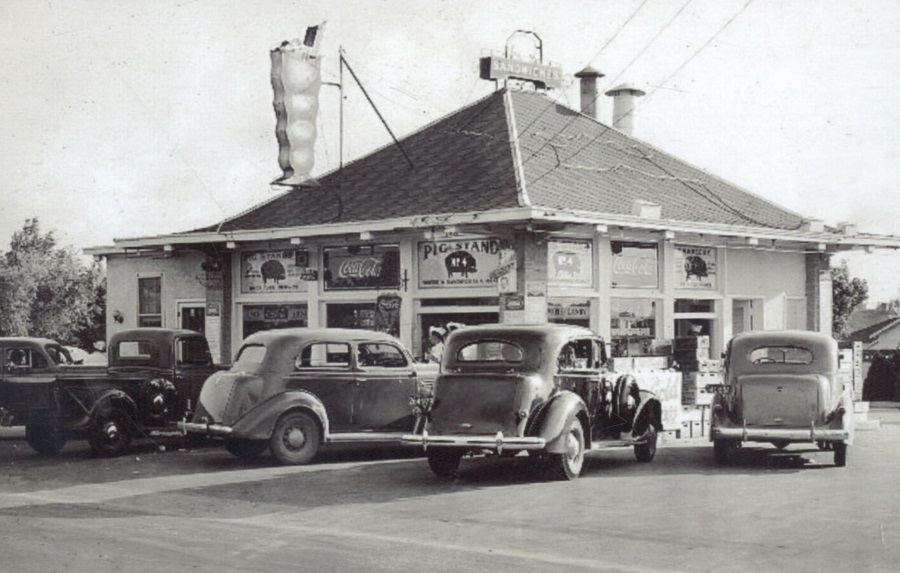 Pig Stand BBQ Dallas Texas 1930's