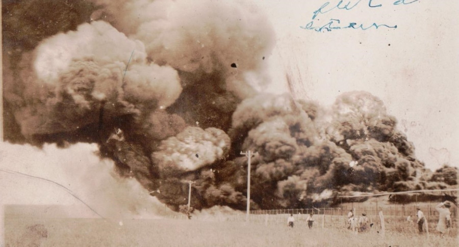 Prairie Fire in Terry County Texas in 1920
