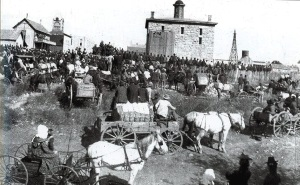 Public Hanging in Stephenville, Texas 1899