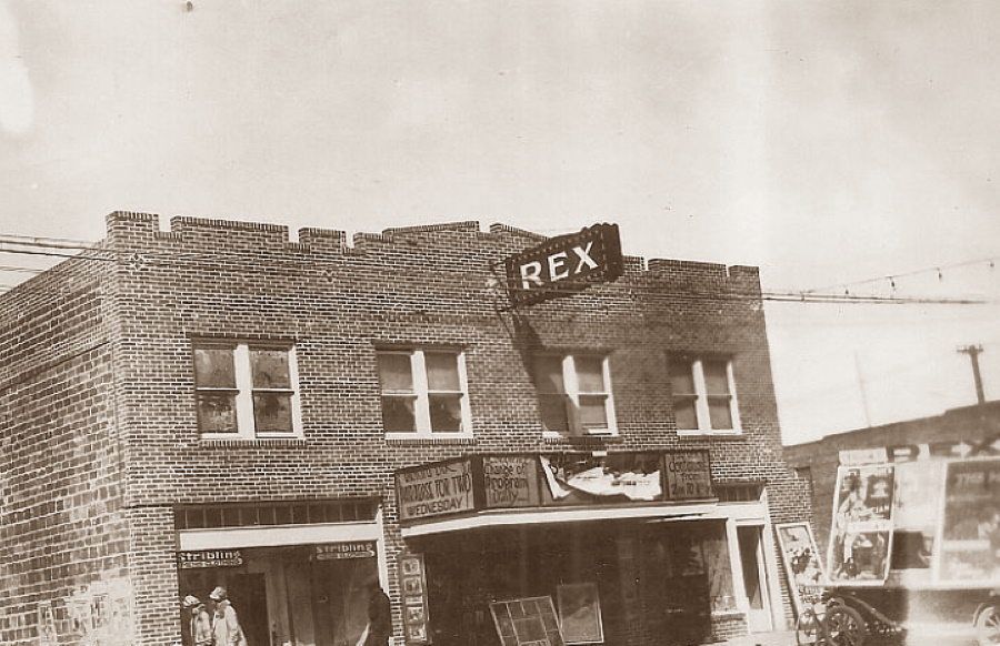Rex Theater in Pampa in 1927