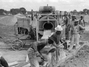 Six Construction Workers Sinton Tx 1939