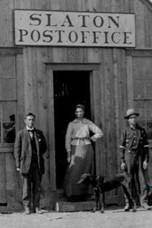 Slaton, Texas Post Office  in 1910