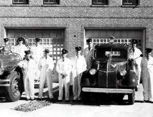 Slaton Texas Fire Department in 1940