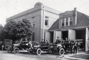 Smithville Tx Fire Department in 1920