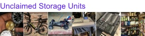 Unclaimed Storage Units