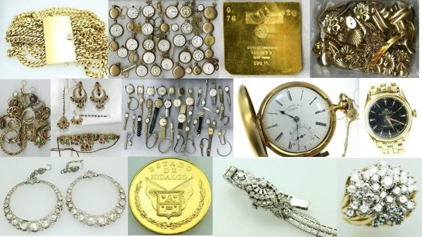 """Unclaimed Jewelry, Coins and Treasure for sale by State of Texas"