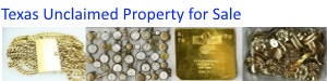 Texas Unclaimed Property for Sale