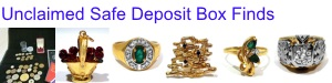 Unclaimed Safe Deposit Box Finds