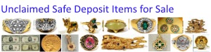 Unclaimed Safe Deposit Items for Sale