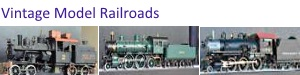 Early Model Railroad Locomotives for sale. Incredibly detailed.