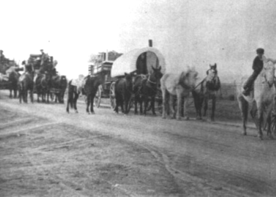 Wagon Train to Plainview