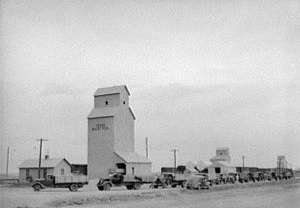 Grain Elevator Potter County Tx 1942