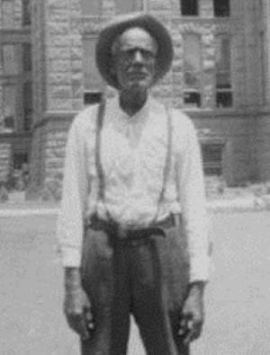 William Homer, Former Slave in Fort Worth in 1939