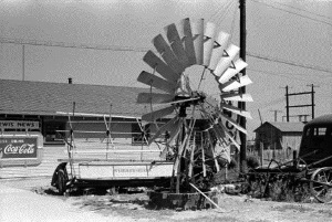 Windmill and Farm Implements for sale Dallam County Tx 1939