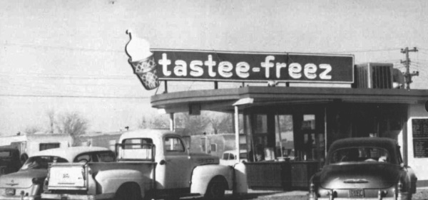 Tastee-Freeze in Floydada in early 1950's