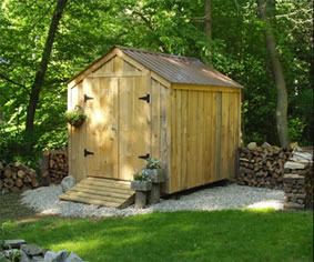 Tool Shed from MyShedPlans
